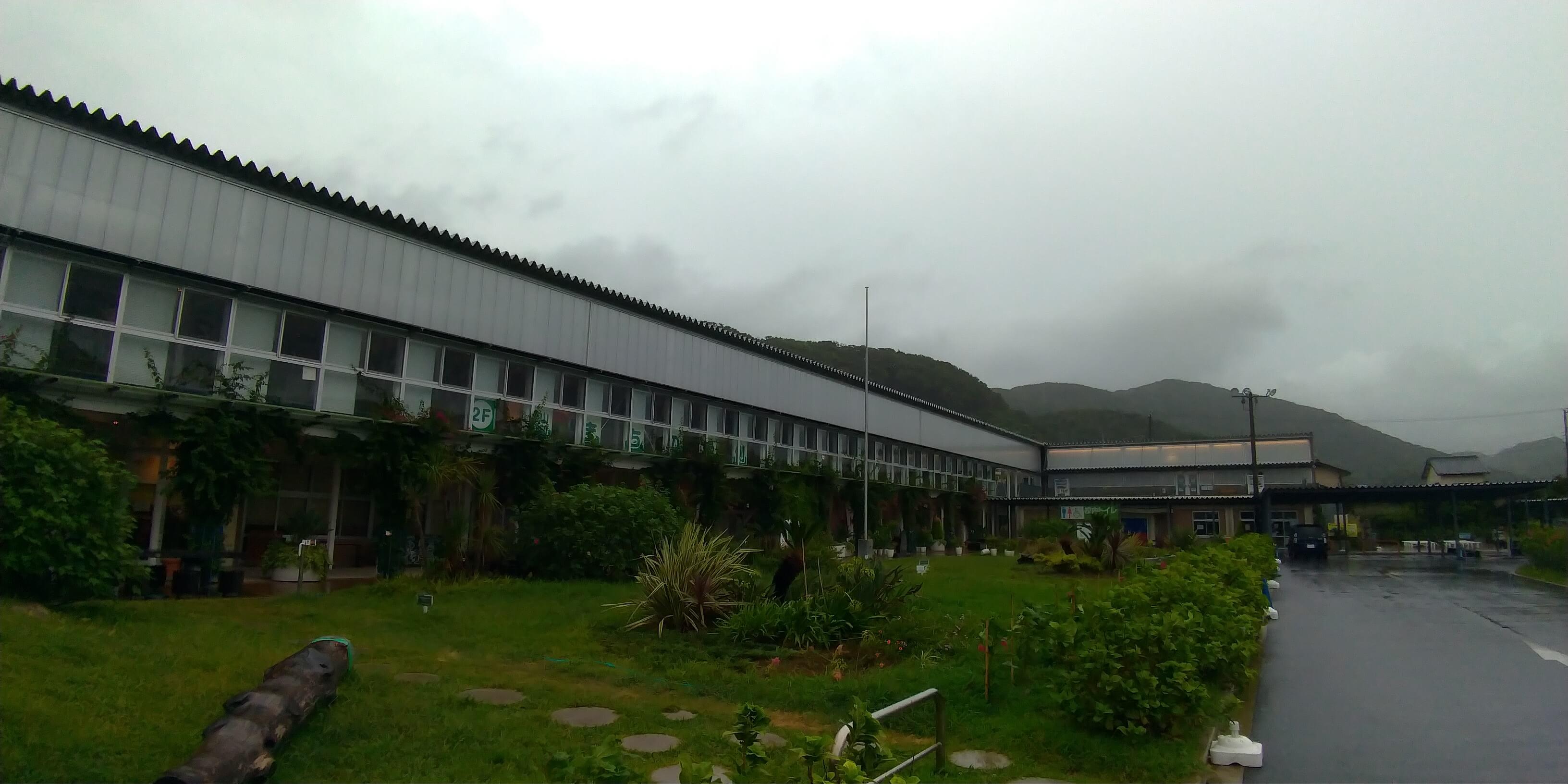 道の駅:保田小学校の外観