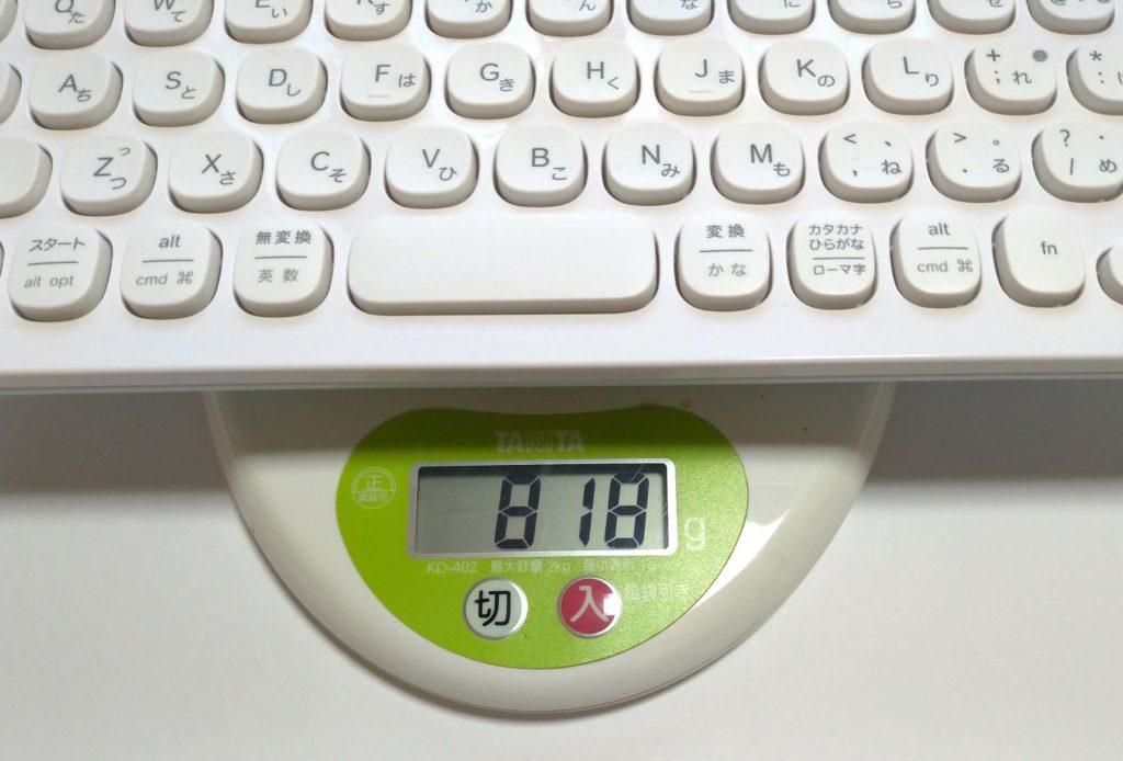K480の重さ画像
