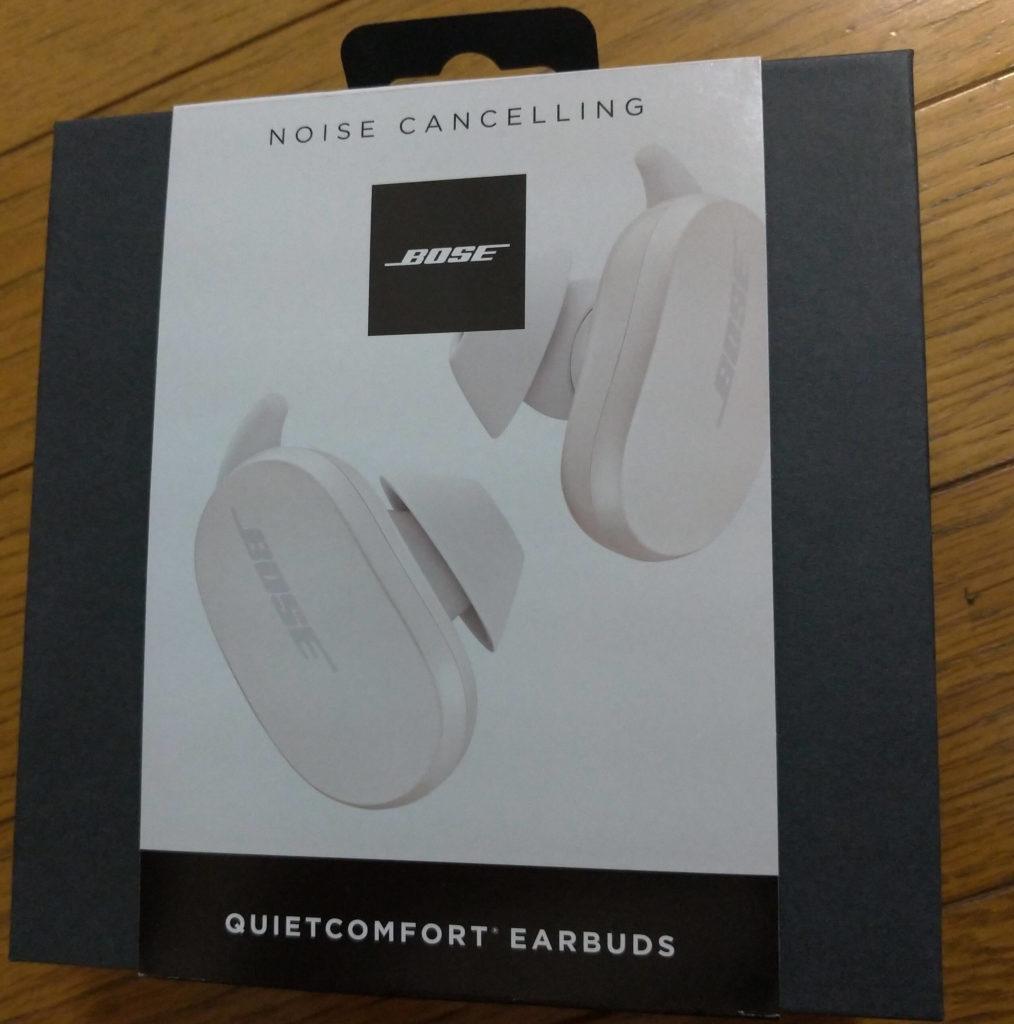 BOSE QUIETCONFORT EARBUDSの箱画像