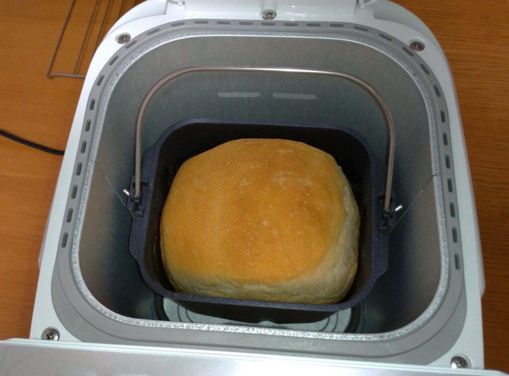 パンが焼きあがったときの画像