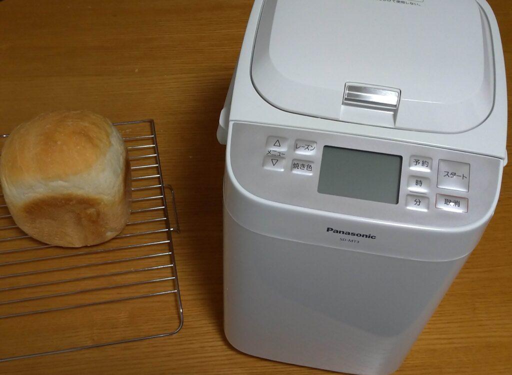 SD-MT3とパンの画像